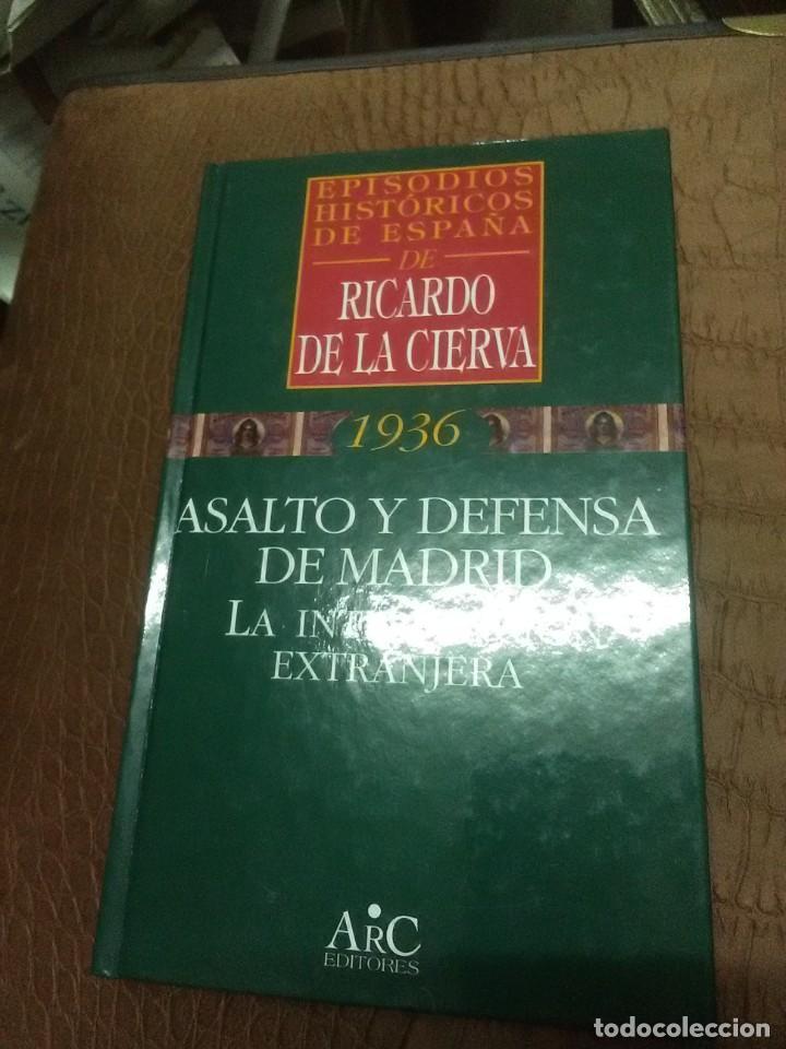 Libros de segunda mano: (Lote de 3). Episodios Históricos de España de Ricardo de la Cierva. NN. 24, 29 y 38. - Foto 4 - 89795432