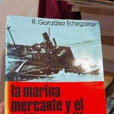 Libros de segunda mano: LIBRO DE LA MARINA MERCANTE Y EL TRAFICO MARITIMO EN LA GUERRA CIVIL DE R.GONZALEZ ECHEGARAY. Lote 258051445