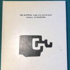 Libros de segunda mano: LA GUERRA CIVIL EN EUSKADI. 1987. Lote 231211650