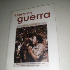 Libros de segunda mano: ESTEM EN GUERRA - ESCRITS 1936-1939 - TERESA PÀMIES. Lote 233331550