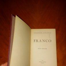 Libros de segunda mano: TAPA DURA FRANCO JOAQUÍN ARRARAS 1938 IMPRENTA ALDECOA BURGOS SEXTA EDICIÓN. Lote 233434810