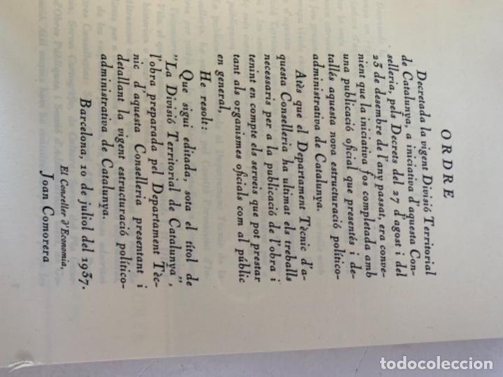 Libros de segunda mano: La divisió territorial de Catalunya - Foto 4 - 235224745