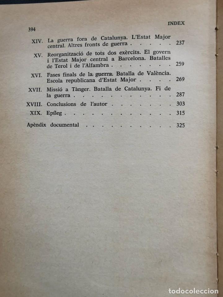 Libros de segunda mano: LAIXECAMENT MILITAR I LA GUERRA CIVIL A CATALUNYA (1936-1939) - VICENÇ GUARNER. - Foto 5 - 235376230