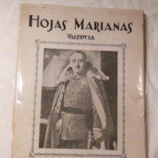 Libros de segunda mano: HOJAS MARIANAS Nº 150 DEL 23 DE ABRIL DE 1939. Lote 235525020
