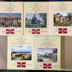 Libros de segunda mano: CRÓNICA DE LA GUERRA CIVIL DE 1936-1937 EN LA EUZKADI PENINSULAR. JOSÉ ANTONIO URGOITIA. 5 TOMOS. Lote 235701885
