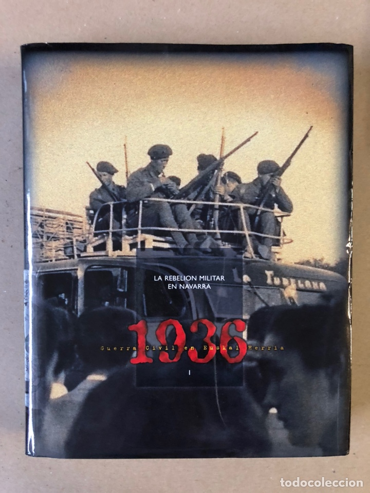 Libros de segunda mano: 1936 GUERRA CIVIL EN EUSKAL HERRIA. ARALAR LIBURUAK 2000. TOMOS I, II, III y IV. - Foto 2 - 235707660