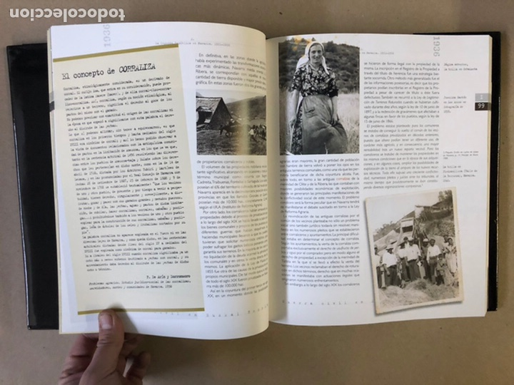 Libros de segunda mano: 1936 GUERRA CIVIL EN EUSKAL HERRIA. ARALAR LIBURUAK 2000. TOMOS I, II, III y IV. - Foto 10 - 235707660