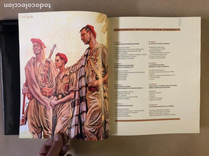 Libros de segunda mano: 1936 GUERRA CIVIL EN EUSKAL HERRIA. ARALAR LIBURUAK 2000. TOMOS I, II, III y IV. - Foto 20 - 235707660