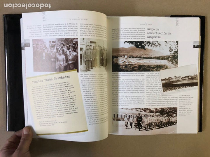 Libros de segunda mano: 1936 GUERRA CIVIL EN EUSKAL HERRIA. ARALAR LIBURUAK 2000. TOMOS I, II, III y IV. - Foto 39 - 235707660