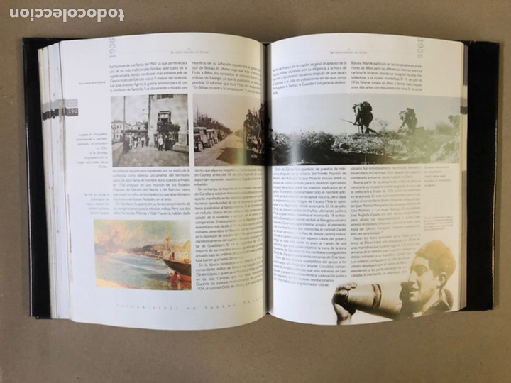 Libros de segunda mano: 1936 GUERRA CIVIL EN EUSKAL HERRIA. ARALAR LIBURUAK 2000. TOMOS I, II, III y IV. - Foto 42 - 235707660