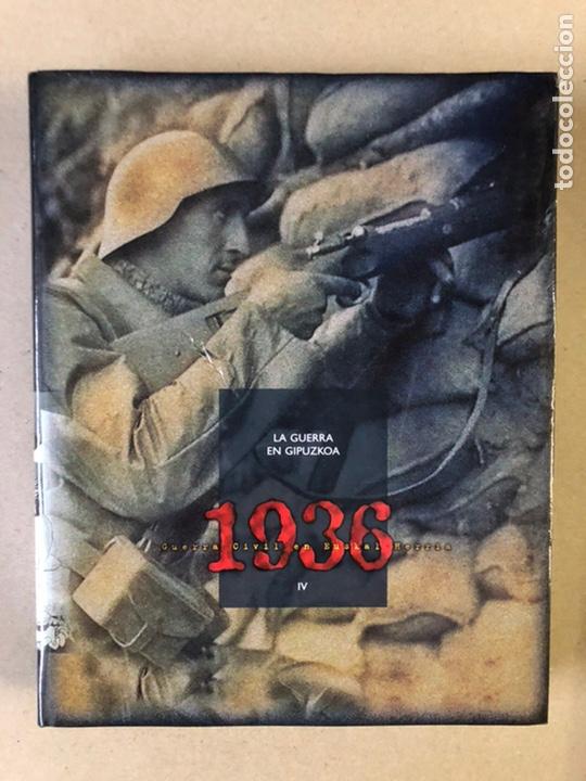 Libros de segunda mano: 1936 GUERRA CIVIL EN EUSKAL HERRIA. ARALAR LIBURUAK 2000. TOMOS I, II, III y IV. - Foto 47 - 235707660
