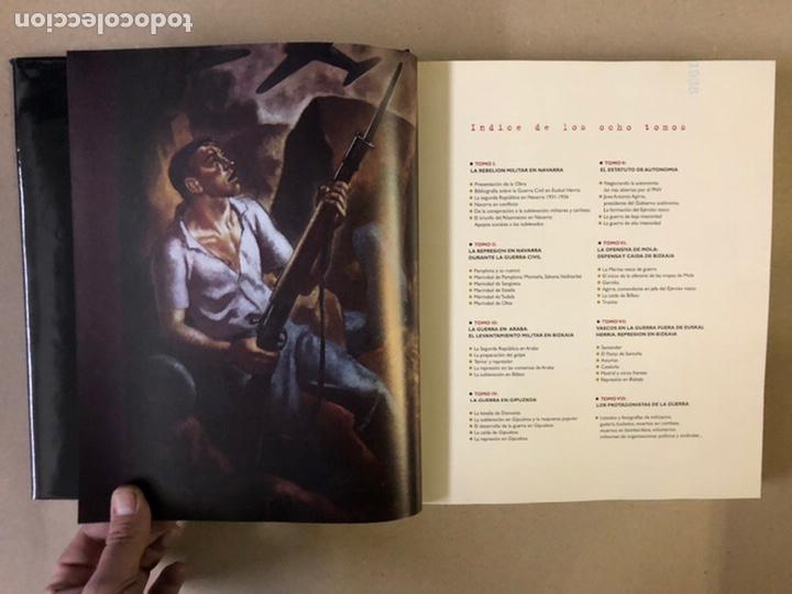 Libros de segunda mano: 1936 GUERRA CIVIL EN EUSKAL HERRIA. ARALAR LIBURUAK 2000. TOMOS I, II, III y IV. - Foto 51 - 235707660
