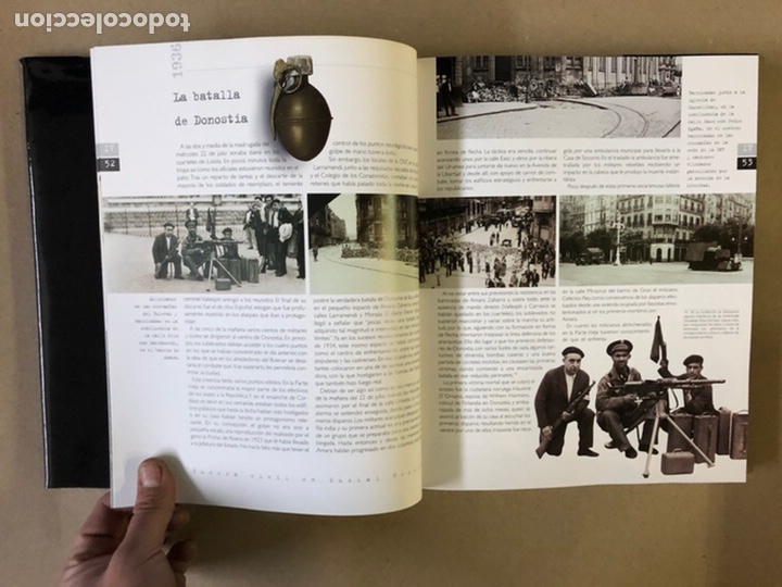 Libros de segunda mano: 1936 GUERRA CIVIL EN EUSKAL HERRIA. ARALAR LIBURUAK 2000. TOMOS I, II, III y IV. - Foto 54 - 235707660