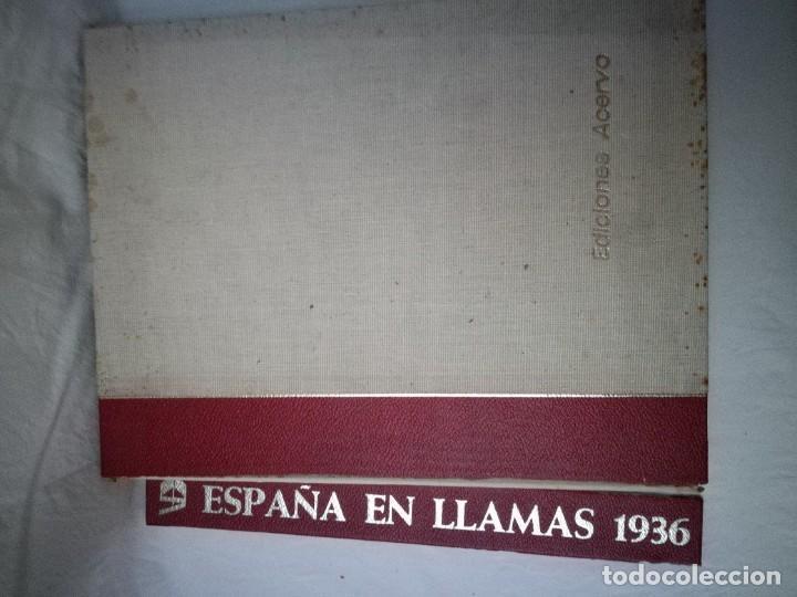 ESPAÑA EN LLAMAS 1936 - GUERRA CIVIL ESPAÑOLA (Libros de Segunda Mano - Historia - Guerra Civil Española)