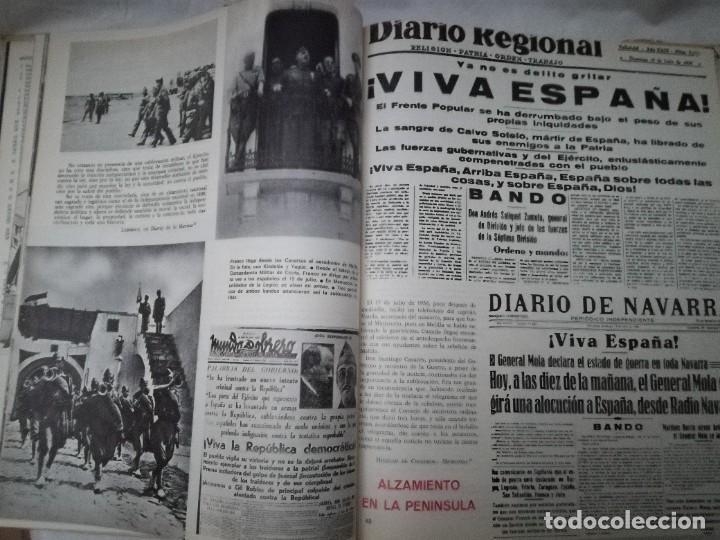 Libros de segunda mano: ESPAÑA EN LLAMAS 1936 - GUERRA CIVIL ESPAÑOLA - Foto 5 - 236793290