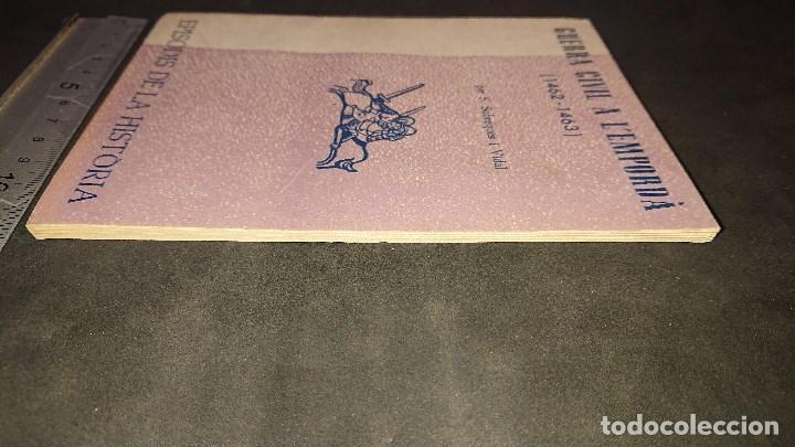 Libros de segunda mano: LIBRITO , GUERRA CIVIL A L EMPORDA 1963 64 PAGINAS . LEER DESCRIPCION - Foto 3 - 237170050