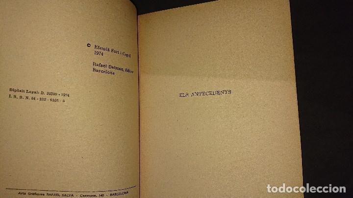 Libros de segunda mano: LIBRITO , EL TRANSIT PEL COLL DE BALAGUER 1974 61 PAGINAS . LEER DESCRIPCION - Foto 3 - 237170665