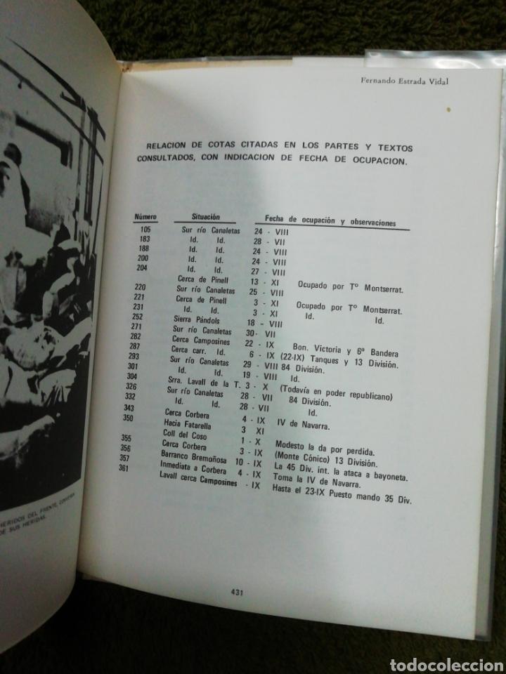 Libros de segunda mano: Los que estuvimos en la batalla del ebro, Fernando Estrada - Foto 5 - 237180995