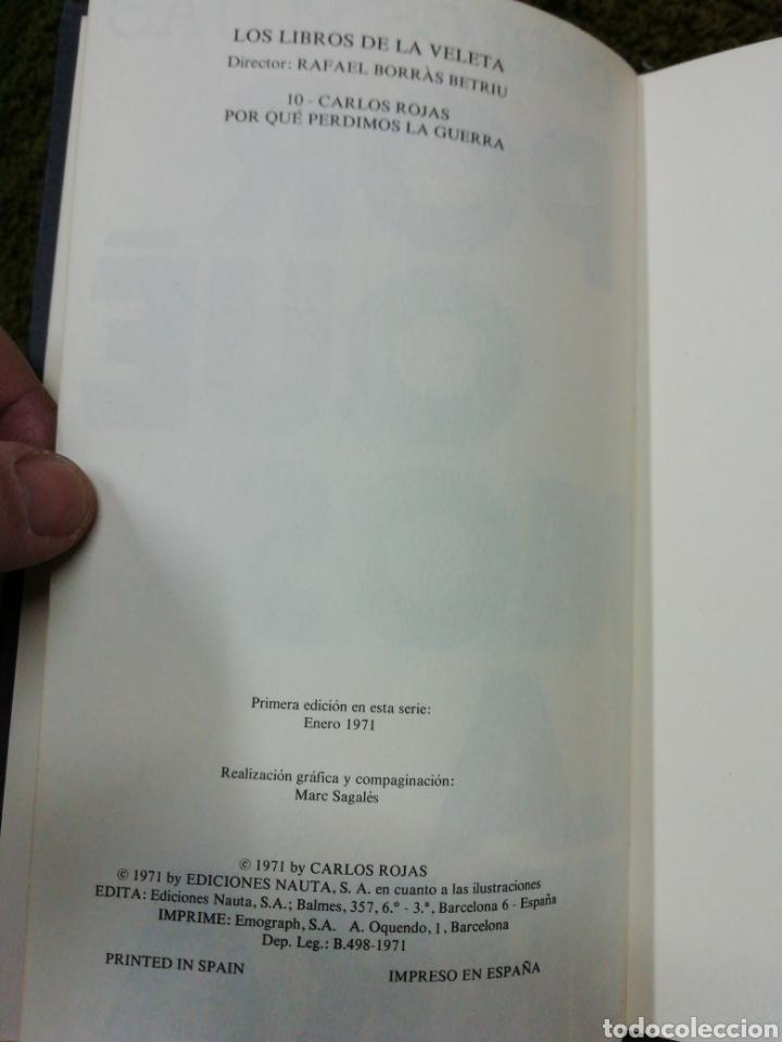 Libros de segunda mano: Porque perdimos la guerra, Carlos Rojas - Foto 2 - 237184380