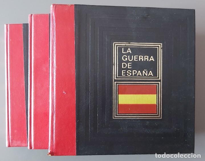 Libros de segunda mano: LA GUERRA DE ESPAÑA - Foto 3 - 237461805