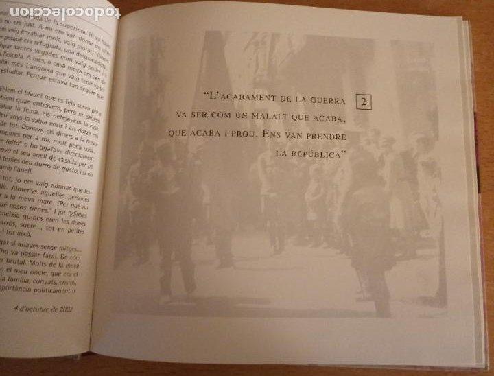 Libros de segunda mano: VEUS DE DONES - SEGONA REPÚBLICA I GUERRA CIVIL A VILAFRANCA PENEDÈS - BELÉN MORENO - 2003 - CATALÀ - Foto 3 - 238666235