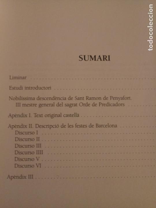 Libros de segunda mano: RAMON DE PENYAFORT - JURISTA INTERNACIONAL DEL CASTELL - SOLÉ I BORDES - OMNIUM 2005 - CATALÀ - Foto 2 - 238668940