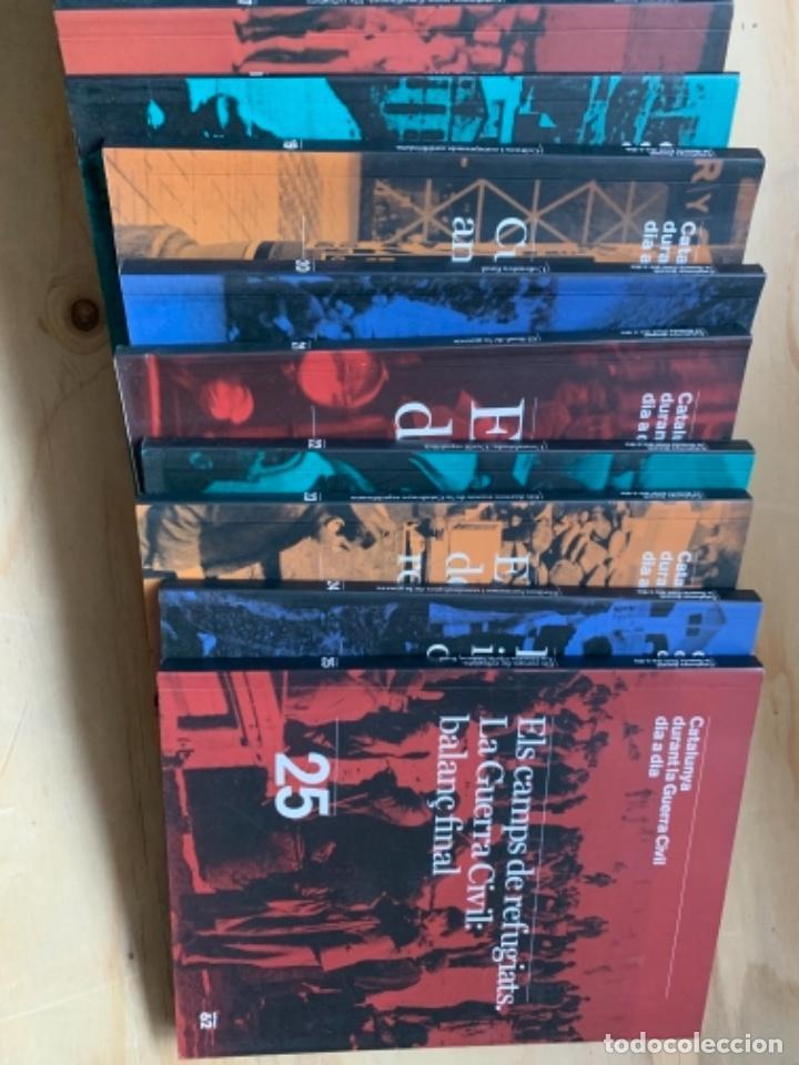 Libros de segunda mano: Catalunya durant la guerra civil dia a dia - Foto 3 - 239847075