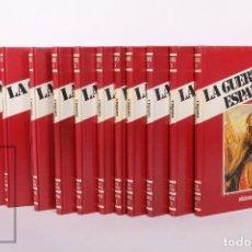 Libros de segunda mano: COLECCIÓN COMPLETA - LA GUERRA CIVIL ESPAÑOLA / 12 TOMOS - ED. URBIÓN - AÑO 1983. Lote 242832545