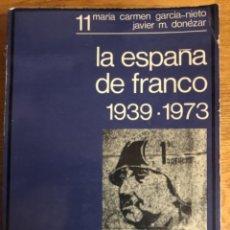 Libros de segunda mano: LA ESPAÑA DE FRANCO GARCIA NIETO. Lote 242994730