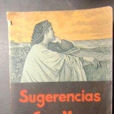 Libros de segunda mano: SUGERENCIAS GAR-MAR. 1942- RARO-ENVIO GRATUITO. Lote 243147675