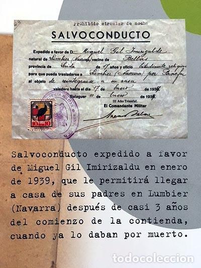 UN ADOLESCENTE EN LA RETAGUARDIA. (GUERRA CIVIL : EL PUEYO, BARBASTRO; CASPE; LUMBIER NAVARRA (Libros de Segunda Mano - Historia - Guerra Civil Española)