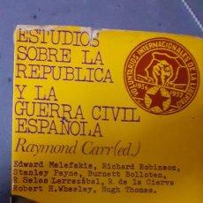 Libros de segunda mano: RAYMOND CARR. ESTUDIOS SOBRE LA REPUBLICA Y LA GUERRA CIVIL. ARIEL. Lote 243605055