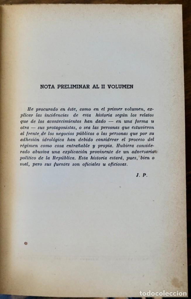 Libros de segunda mano: HISTORIA DE LA SEGUNDA REPÚBLICA ESPAÑOLA- JOSÉ PLA- DESTINO 1940- PRIMERA EDICIÓN - 4 TOMOS - Foto 13 - 243607095
