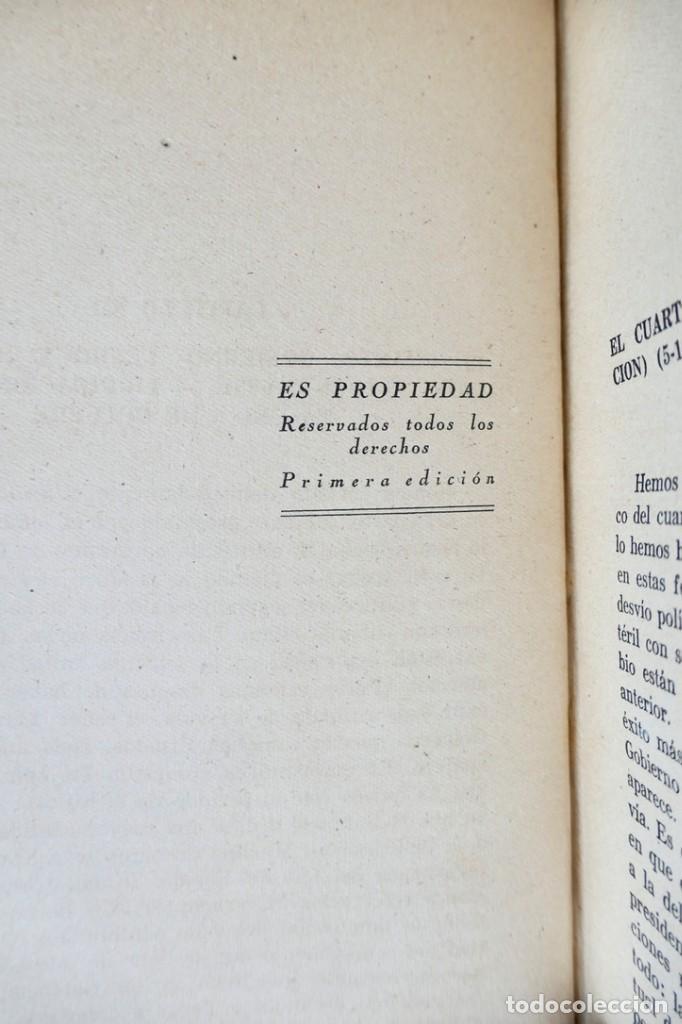 Libros de segunda mano: HISTORIA DE LA SEGUNDA REPÚBLICA ESPAÑOLA- JOSÉ PLA- DESTINO 1940- PRIMERA EDICIÓN - 4 TOMOS - Foto 29 - 243607095