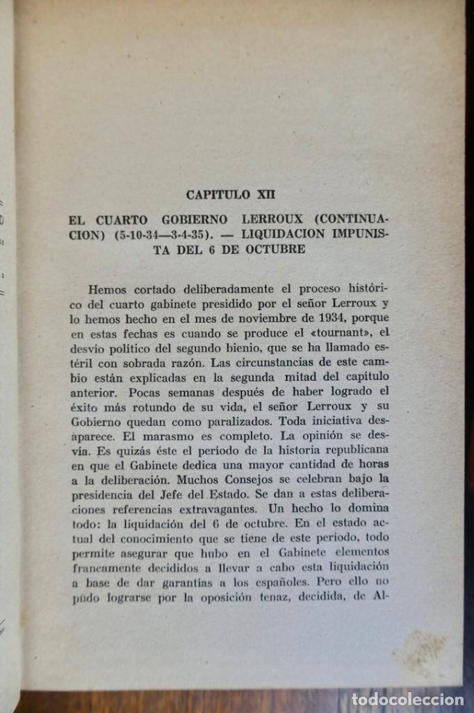Libros de segunda mano: HISTORIA DE LA SEGUNDA REPÚBLICA ESPAÑOLA- JOSÉ PLA- DESTINO 1940- PRIMERA EDICIÓN - 4 TOMOS - Foto 30 - 243607095