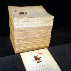Libros de segunda mano: HISTORIA DE LA CRUZADA ESPAÑOLA. 36 TOMOS (COMPLETA). JOAQUÍN ARRARAS. C. SAENZ DE TEGADA. MADRID, 1. Lote 243790910