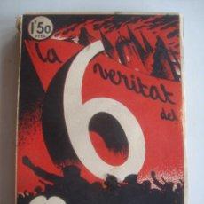 Libros de segunda mano: LA VERITAT DEL 6 D'OCTUBRE - JOAN COSTA I DEU I MODEST SABATÉ (1936). JOAN ANGLADA. OCTUBRE. Lote 243968330
