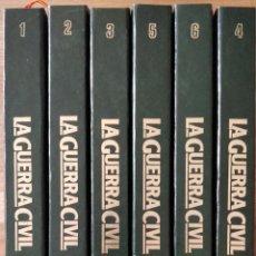 Libros de segunda mano: LA GUERRA CIVIL ESPAÑOLA, 6 VOLUMENES, COLECCIONABLE DE HISTORIA 16. COMPLETA.. Lote 244649525