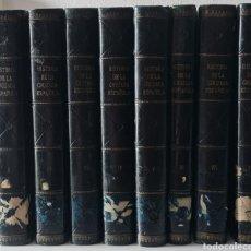 Libros de segunda mano: HISTORIA DE LA CRUZADA ESPAÑOLA. COMPLETA 8 TOMOS. EDICION 1. 1939. Lote 244736395