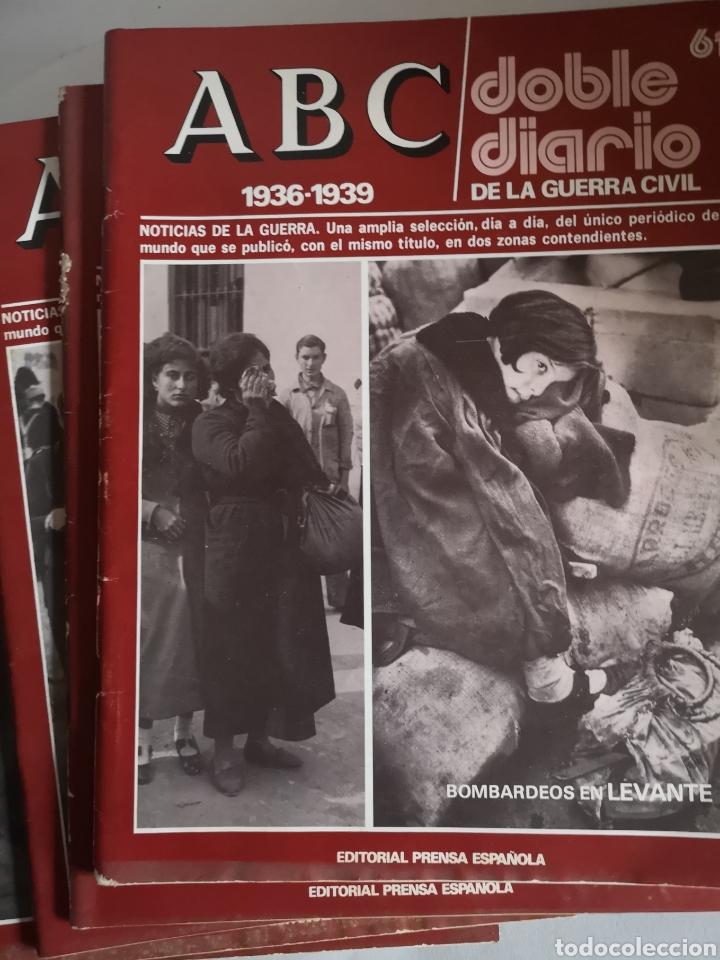 Libros de segunda mano: ABC 1936 - 1939 Doble Diario de la Guerra Civil N° 61 - 70 Año 1978 - Foto 2 - 244755095