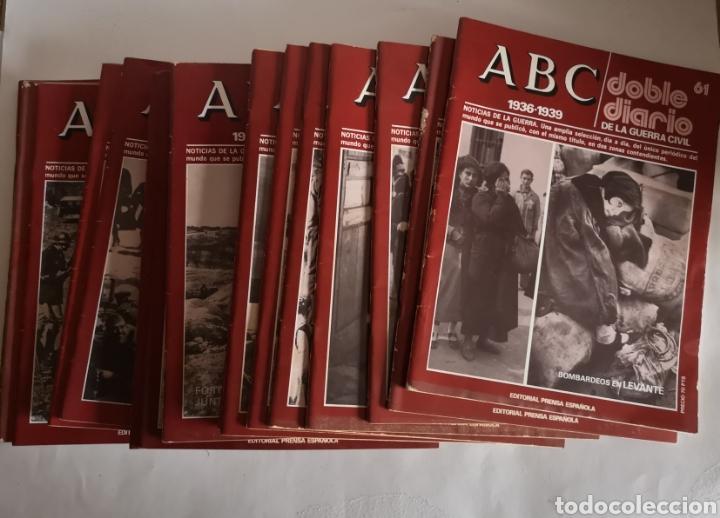 Libros de segunda mano: ABC 1936 - 1939 Doble Diario de la Guerra Civil N° 61 - 70 Año 1978 - Foto 3 - 244755095