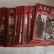 Libros de segunda mano: ABC 1936 - 1939 DOBLE DIARIO DE LA GUERRA CIVIL N° 61 - 70 AÑO 1978. Lote 244755095