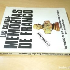 Libros de segunda mano: LAS CONTRA - MEMORIAS DE FRANCO / LA VERDAD DE SUS CONVERSACIONES PRIVADAS / JULIAN LAGO / CONS 24. Lote 245290620