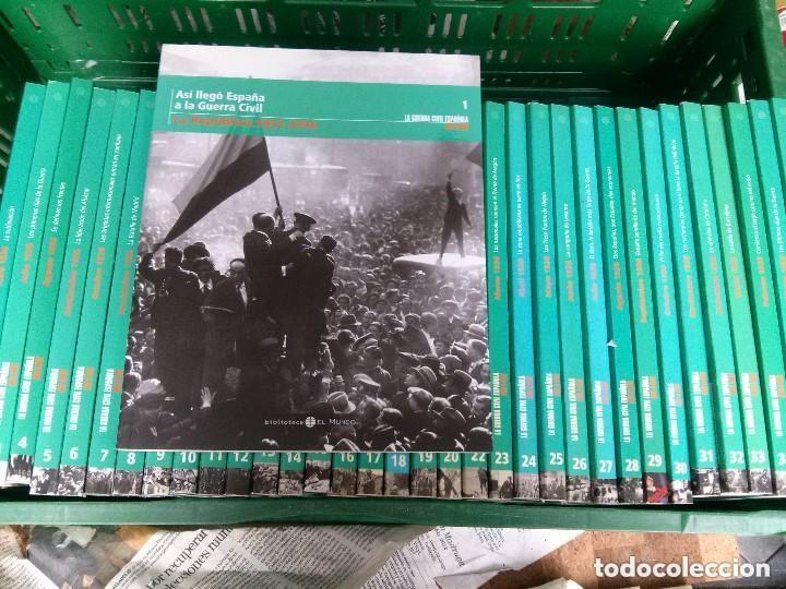 LA GUERRA CIVIL ESPAÑOLA MES A MES- EL MUNDO- COLECCION COMPLETA 36 VOLUMENES (Libros de Segunda Mano - Historia - Guerra Civil Española)