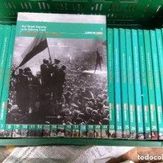 Libros de segunda mano: LA GUERRA CIVIL ESPAÑOLA MES A MES- EL MUNDO- COLECCION COMPLETA 36 VOLUMENES. Lote 246243455