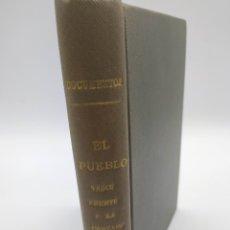 Livros em segunda mão: EL PUEBLO VASCO FRENTE A LA CRUZADA FRANQUISTA 1 DOCUMENTOS. Lote 248469640