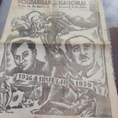 Libros de segunda mano: SOLIDARIDAD NACIONAL GUERRA CIVIL. Lote 249200430