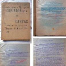 Libros de segunda mano: CONSULADO DE HOLANDA COPIADOR DE CARTAS Nº3 SEPTIEMBRE DE 1937 A AGOSTO DE 1940. Lote 251658725