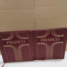 Libros de segunda mano: FRANCO...ESPAÑA Y LOS ESPAÑOLES.........DOS TOMOS......1975..... Lote 251843945