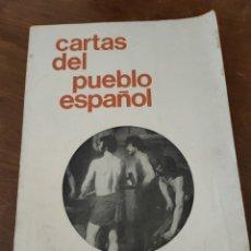 Libros de segunda mano: CARTAS DEL PUEBLO ESPAÑOL. PLAZA MAYOR.. Lote 251958195